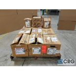 Lot of (12) gearboxes from .95 hp to 1.16 hp