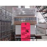 Lot of (2) boxes Telatemp cold snaps (11) packs per box temperature critical recorders