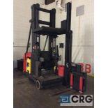 Raymond SA-CSR30T electric swing reach turret narrow aisle forklift, 48 volt, 3000 lb capacity,