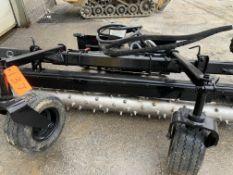 Harley M7 rake for skidsteer, s/n MX77A096