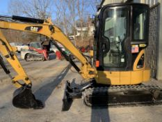 2011 Cat 303CCR excavator with cab, 2,700 hours, s/n OBXT03964