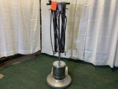 Silverline 17 in. floor polisher, s/n 2450