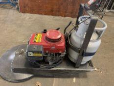 Gas (propane) burnisher