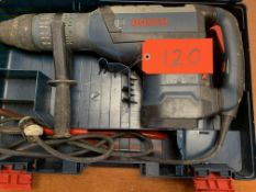 Bosch RH1255VC rotary hammer, point and chisel, s/n 702000545