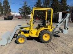 2012 Terramite T5C backhoe/loader, low hours, s/n CW21250208