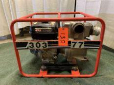 Multiquip QP3TH 3 in. trash pump, s/n 19027