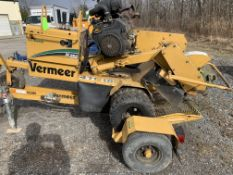 Vermeer SC 252 stump grinder, 926 hours, with trailer, s/n 1VRN071F7B1016002