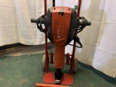 Hilti TE3000AVR elec breaker, point and chisel, s/n 041853