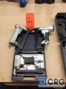 Lot of (3) assorted pneumatic Spotnail nailers