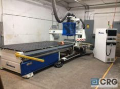 2016 Hendrick HSR-688 510 CNC router, 12 HP high frequency spindle to 24,000 RPM, 5 ft. X 10 ft. (8)