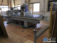 2014 Weeke/ Vantech Optimat BHP008 - 510 CNC router, 9.5 kW spindle, 8 position ATC tool bar, 122