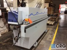 "2017 Homag KDN-110 Ambition-1100 compact edgebander, ""Quick Melt"" granulate hot melt glue system,"