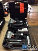 Lot of (2) nailers including (1) Porter Cable Brad nailer m/n BN200C 2 inch 18 gauge chisel point