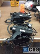 Lot of (2) Tec pneumatic glue guns m/n 6100-43