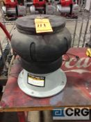 Chicago Electric 12 inch bench top vibratory finisher, 1 phase