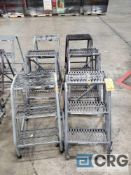 Lot consists of (6) Uline 36 in. step ladders