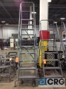 Tri-Arc 10 ft portable stock ladders