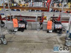 (2) JB Platinum 7CFM, m/n DV-200N, 1/2 hp vacuum pump