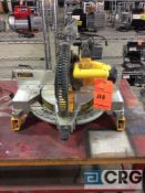 DeWALT 12 in. compound miter saw m/n DW715 with miter saw stand m/n DW7232