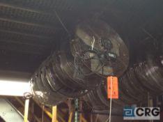 Lot of (8) 18 inch diameter fans