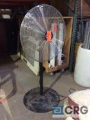 Lot of (2) Global 30 inch pedestal fans