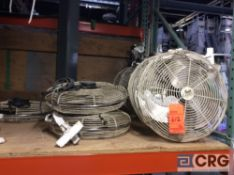 Lot of (12) 18 inch diameter fans