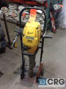 Atlas Copco FB60-S stake pounder with cart