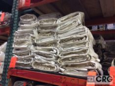 Lot of (29) 8 ft. x 22 ft. cathedral sidewalls, 2 ft. lap and snap