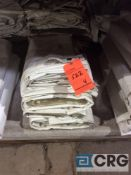 Lot of (4) 8 ft. x 18 ft. cathedral sidewalls, 2 ft. lap and snap