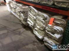 Lot of (70) 10 ft. x 22 ft. clear sidewalls, 2 ft. lap and snap