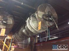 Lot of (14) 18 inch diameter fans