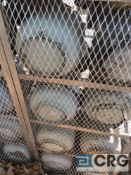 Lot of (41) small propane cylinders ( 20 gallon capacity each )
