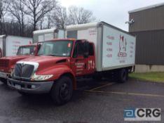 2007 International 20' box truck w/Extended Cab, DT466 ENGINE, A/T, Vinyl interior, Morgan 20' box