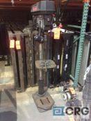 Craftsman 15 inch pedestal drill press, with Laser-Trac, 1725 max rpm, 1/2 hp motor, 120 volt single