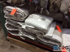 Lot of (14) 9 ft. x 22 ft. clear sidewalls, 2 ft. lap and snap