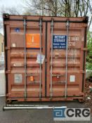 20ft storage container, inside door width and height 90 in. (W) x 90 in. (H)