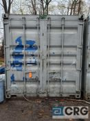 40ft storage container , inside door width and height ( 89 in. (W) X 91 in. (H)