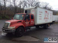 2006 International 20' box truck w/Extended Cab, DT466 ENGINE, A/T, Vinyl interior, Morgan 20' box