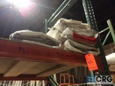 Lot of (6) 10 ft. x 12 ft. clear sidewalls, 2 ft. lap and snap