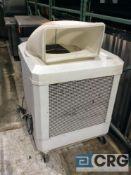 Schaffer WAYCOOL portable evaporative cooling fan, 115 volt