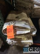 Lot of (5) 12 ft. x 22 ft. cathedral sidewalls, 2 ft. lap and snap