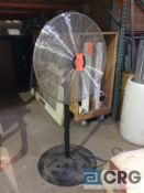 Lot of (4) Global 30 inch pedestal fans