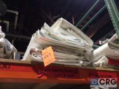 Lot of (7) 8 ft. x 12 ft. cathedral sidewalls, 2 ft. lap and snap