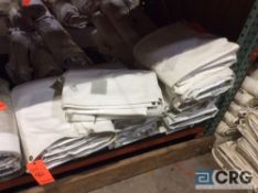 Lot of (13) 9 ft. x 22 ft. cathedral sidewalls, 2 ft. lap and snap