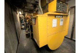 2012 CAT 3520C LFG- Methane gas powered stationary 20 cylinder generator, 1600 kW, 2000 kVA