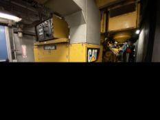 2012 CAT 3520C LFG- Methane gas powered stationary 20 cylinder generator, 1600 kW, 2000 kVA