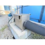 "Meidinger Witt biogass pressure booster with direct drive 10 HP WEG severe duty motor, 12"" cast"