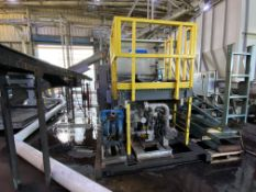 World Water Works RSP 30MS 120 GPM DAF system , polypro tank and piping, cone bottom, double