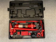 Pittsburgh 8,000 lb. hydraulic tool set