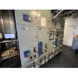 CAT 5 section UL91 switchboard parallel GENSET switch gear and connection panels including (6) Eaton